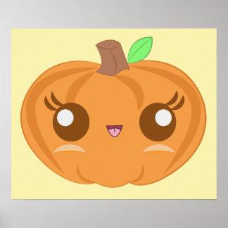 Cute Baby Pumpkin Poster