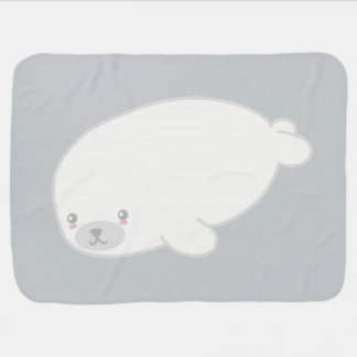 Cute Baby Seal Buggy Blankets