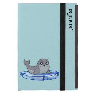 Cute baby seal cartoon kids cover for iPad mini