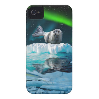 Cute Baby Seal Fantasy Art Wildlife Phone Case iPhone 4 Case-Mate Cases