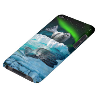 Cute Baby Seal Fantasy Art Wildlife Supporter Barely There iPod Case