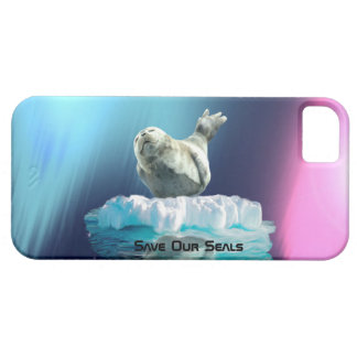 Cute Baby Seal Fantasy Art Wildlife Supporter iPhone 5 Covers