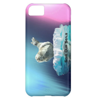 Cute Baby Seal Fantasy Art Wildlife Supporter iPhone 5C Case