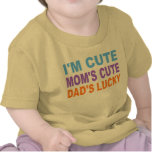 CUTE BABY SHIRT, DAD'S LUCKY