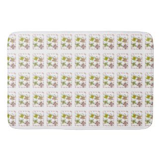 Cute Baby Shower little princess butterfly design Bath Mat