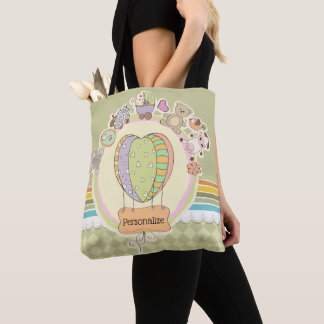 Cute Baby Shower Tote Bag