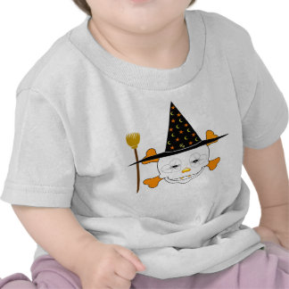 Cute Baby Skull Witch Tshirts