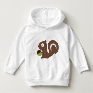 Cute Baby Squirrel Design Hoodie