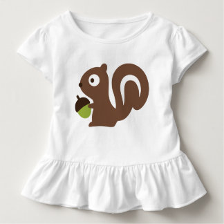 Cute Baby Squirrel Design Toddler T-Shirt
