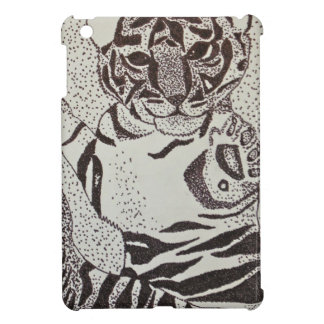 Cute Baby Tiger Cell Phone Cover iPad Mini Cases