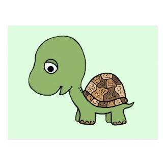 Cute Baby Tortoise Postcard