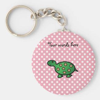 Cute baby turtle keychain