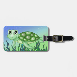 Cute Baby Turtle Luggage Tag