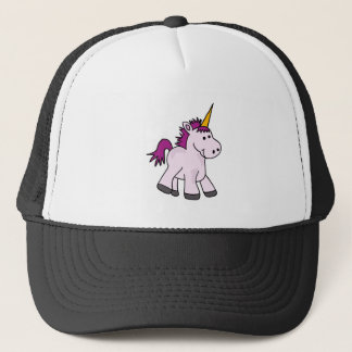 Cute Baby Unicorn Cartoon Trucker Hat