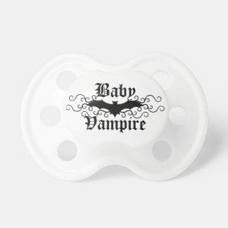 Cute baby vampire pacifier