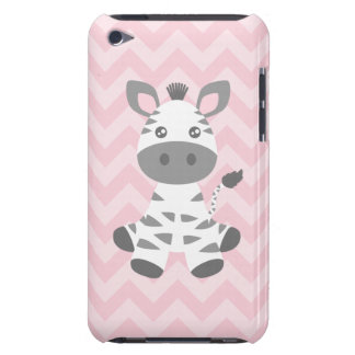 Cute Baby Zebra Barely There iPod Cases