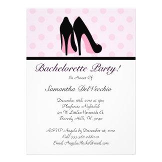 CUTE Bachelorette Party Design Custom Invite
