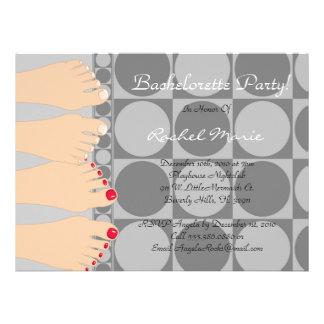 CUTE Bachelorette Party Design Invitation