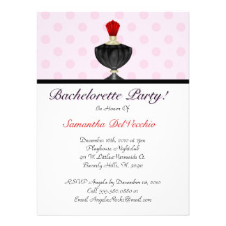 CUTE Bachelorette Party Design Personalized Invitation