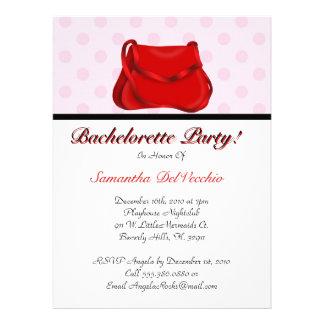 CUTE Bachelorette Party Design Custom Invitation