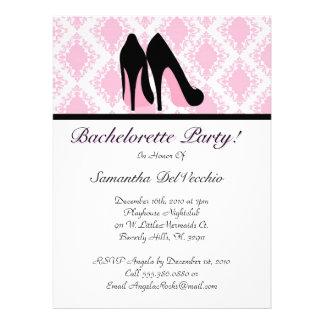 CUTE Bachelorette Party Design Custom Invites