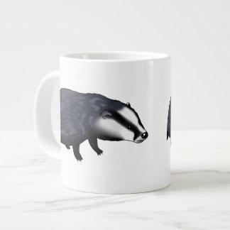 Cute badger jumbo mug