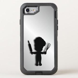 Cute Baker OtterBox Defender iPhone 7 Case