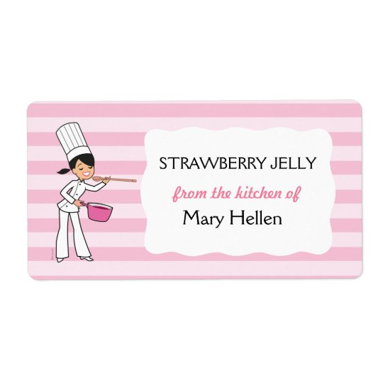 Cute Baking Label For The Kitchen
