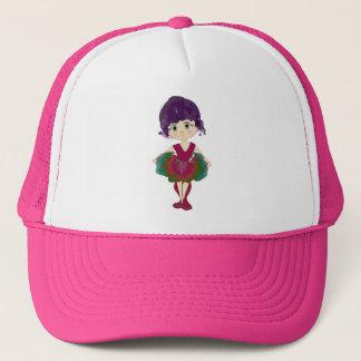 Cute Ballerina Art Trucker Hat