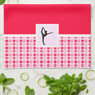 Cute Ballet Tea Towel