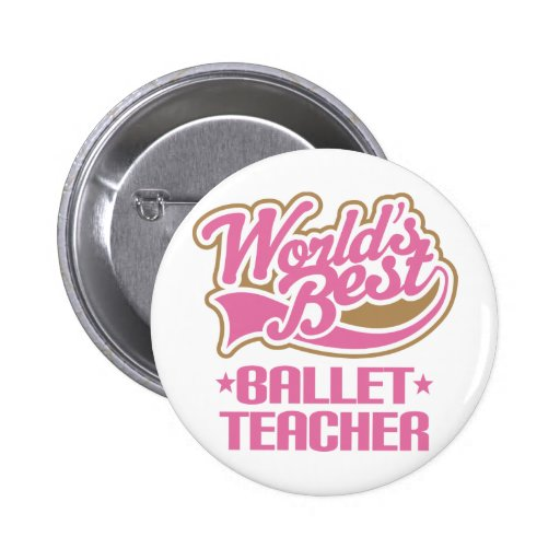 Cute Ballet Teacher Pins