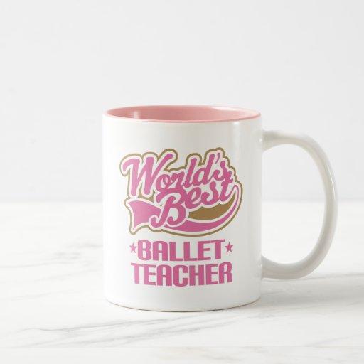 Cute Ballet Teacher Mugs