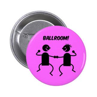 Cute ballroom pinback buttons