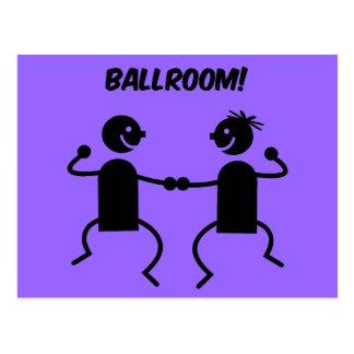 Cute ballroom postcards