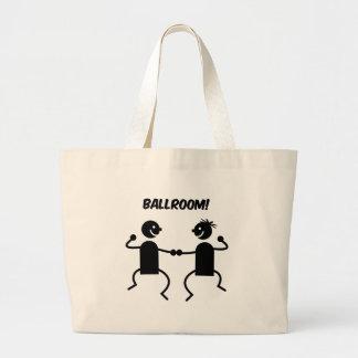 Cute ballroom tote bag