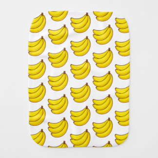 Cute Banana Pattern Burp Cloth