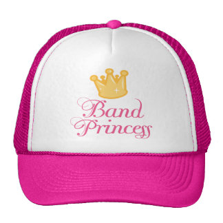 Cute Band Princess Music Gift Trucker Hats