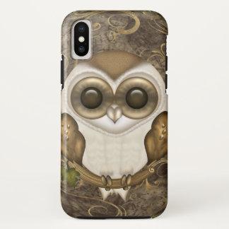 Cute Barn Owl iPhone X Case