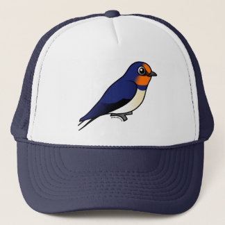 Cute Barn Swallow Trucker Hat