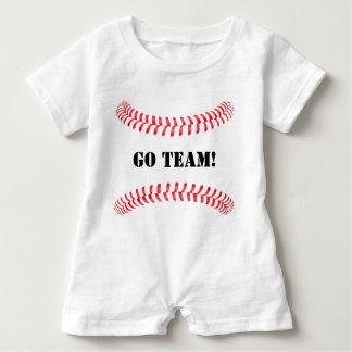 Cute Baseball Baby Ballpark Romper Baby Bodysuit