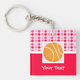 Cute Basketball Acrylic Keychains