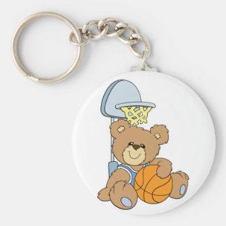 Cute Basketball Bear Keychains