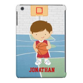 Cute basketball player red basketball jersey iPad mini retina covers