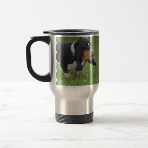 Cute Basset Hound Mugs