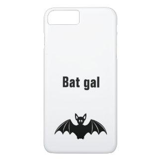 Cute bat cartoon pun joke girls iphone case