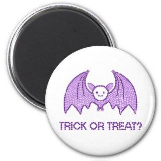 Cute Bat Trick or Treat Fridge Magnets