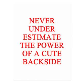 cute bckside postcard