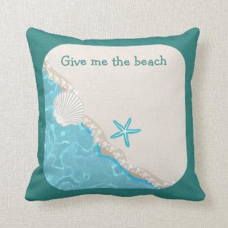 Cute Beach Theme Cushion