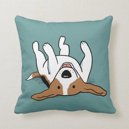 Cute Beagle - Colour Customisable Cushion