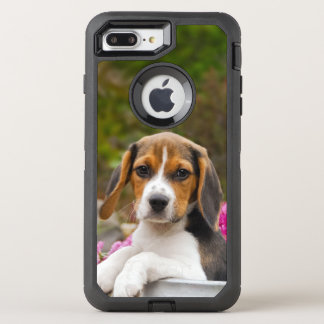 Cute Beagle Dog Puppy Pet Photo - Phone-protection OtterBox Defender iPhone 8 Plus/7 Plus Case